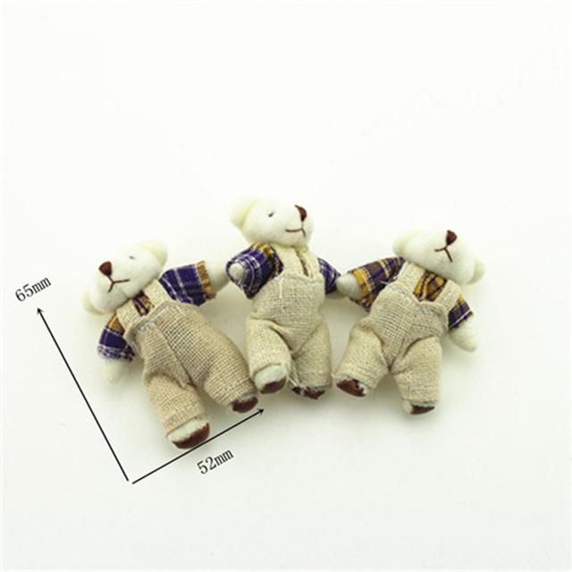 1/12 Doll House Miniature Bear Doll