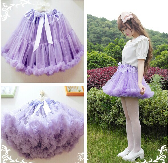 New Elegent TUTU Skirt LOLITA GOTHIC PUNK Petticoat Cosplay Pettiskirt Stage Costume Soft PUFFY Fluffy Skirts Multi Colors In From Womens Clothing