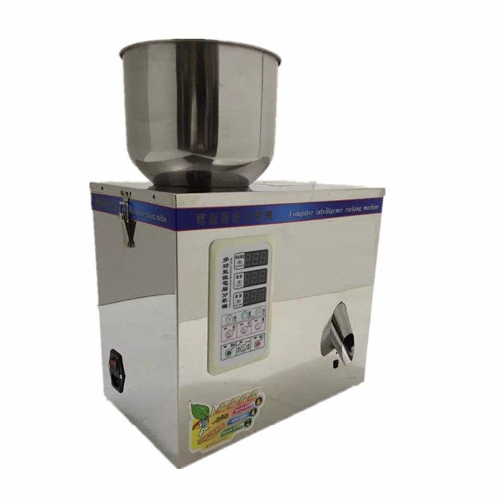 Neue 1 ~ 100g 220 V Automatische Wiege Füllen Regale verpackungsmaschine für Kleine Körnige Packung Lebensmittel paket neue