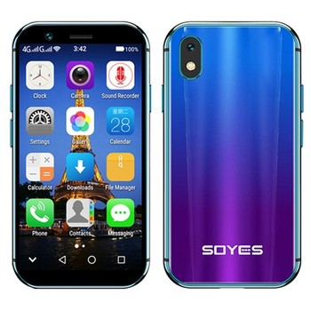 "SOYES XS 3.0"" smallest small unlocked super mini android smart phone android 6.0 4G Mobile phone 2GB+16GB Quad Core Smartphone"