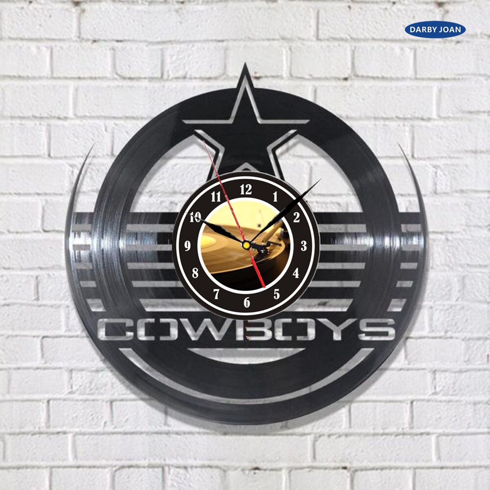 Dallas Cowboys Wall Decor popular dallas cowboys wall clock-buy cheap dallas cowboys wall