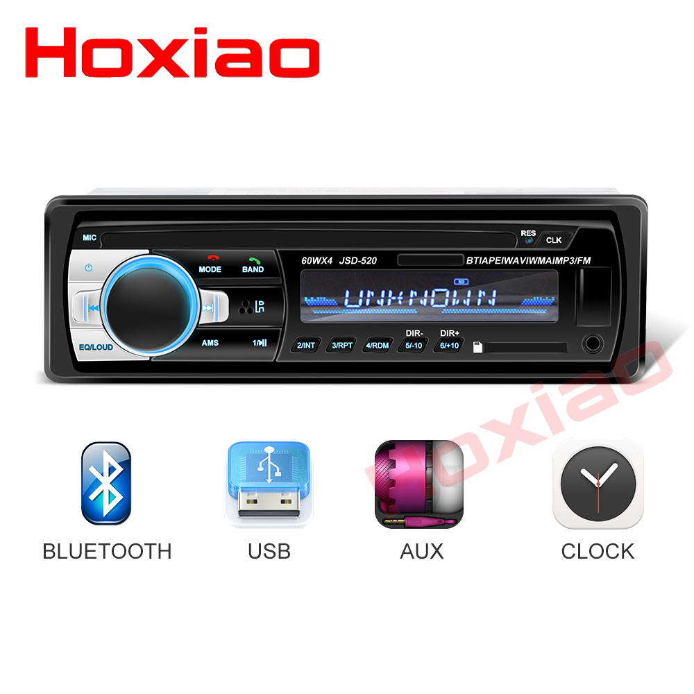 Image 3 - Bluetooth Autoradio 12V Car Stereo Radio FM Aux IN Input Receiver SD USB In dash 1 din Car MP3 Multimedia Player-in Car Radios from Automobiles & Motorcycles