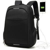 2019 Top Brand New Korean Leisure Travel Waterproof Backpack Male USB Business Luggage Computer Shoulder Men's Backpack