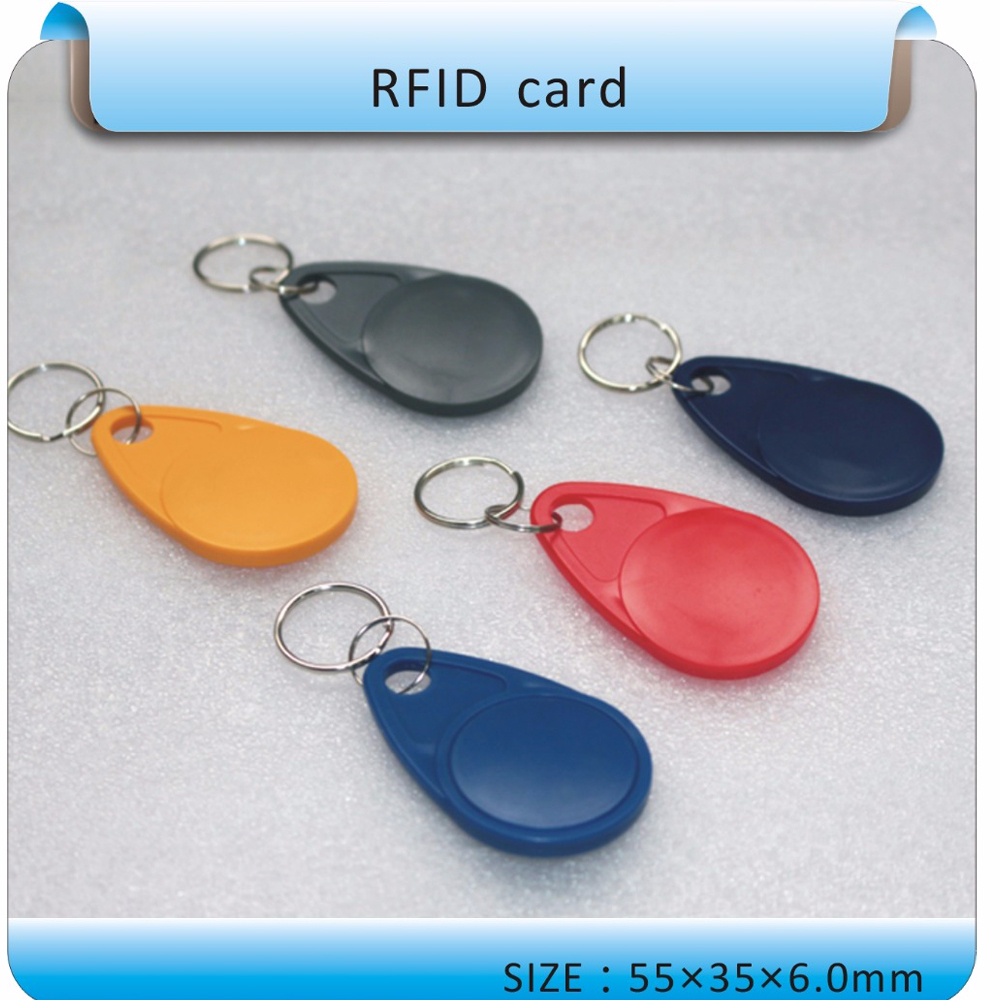 100pcs/lot  Waterproof 125khz Rfid Token Key Rfid Tags Access Control System