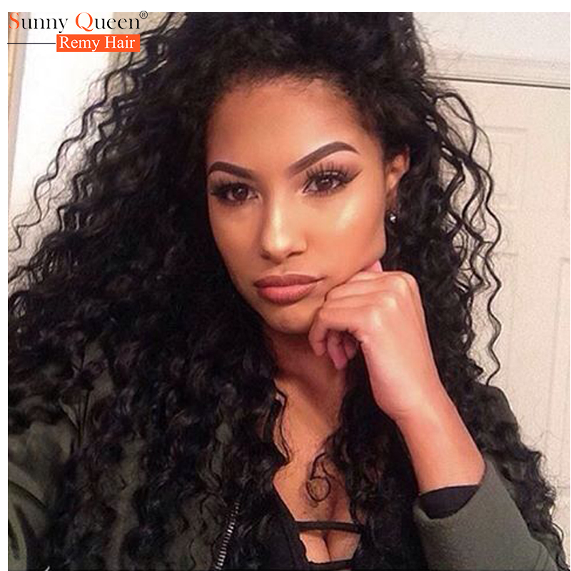Indian Virgin Hair Deep Curly Silk Top Full Lace Human Hair Wigs 100% Human Hair Deep Wave 130%Density Silk Base Lace Front Wigs