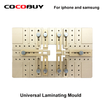 Newest Universal Aluminium Alloy LCD Laminating Alignment Mould Adjustable Mold Front Glass Holder for Iphone and Samsung|holder for|holder for glass|holder universal -