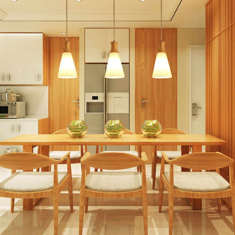 Solid Wood Pendant Lights High End