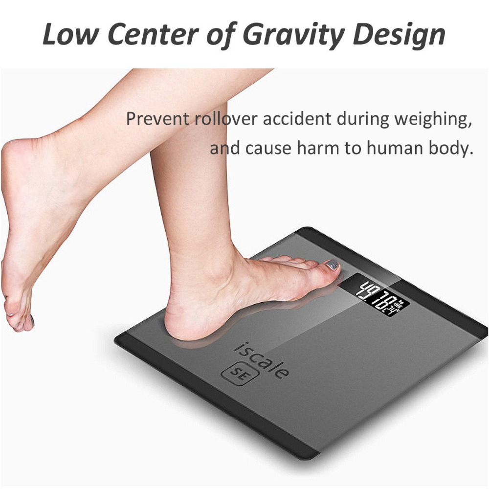 Bathroom floor scales 150g Household Digital electronic bathroom Body scale weight measuring bariatric LCD display