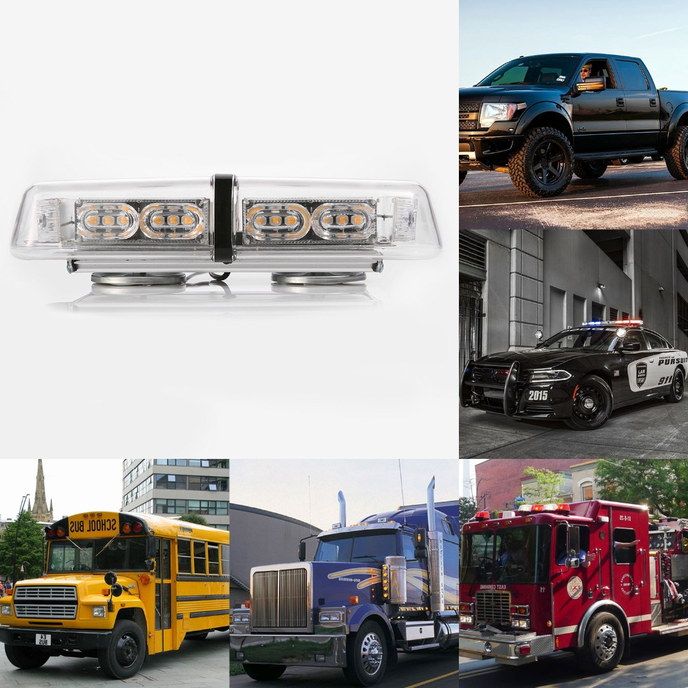 ФОТО High Power 36W 36 LED 16 Modes Car Flashing Light Led Strobe Warning Flash Lights for Beacon Emergency Car SUV Truck Vehicle