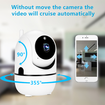 1080P Wireless IP Camera Cloud Wifi Camera Smart Auto Tracking Human Home Security Surveillance CCTV Network 1