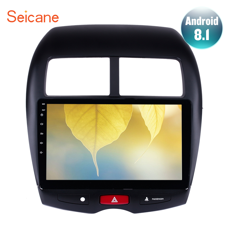 "Seicane 10.1"" Android 8.1 For CITROEN C4 2010-2014 2015 Mitsubishi ASX GPS 2 Din Car Radio Audio Player Support DVR TPMS DAB+"