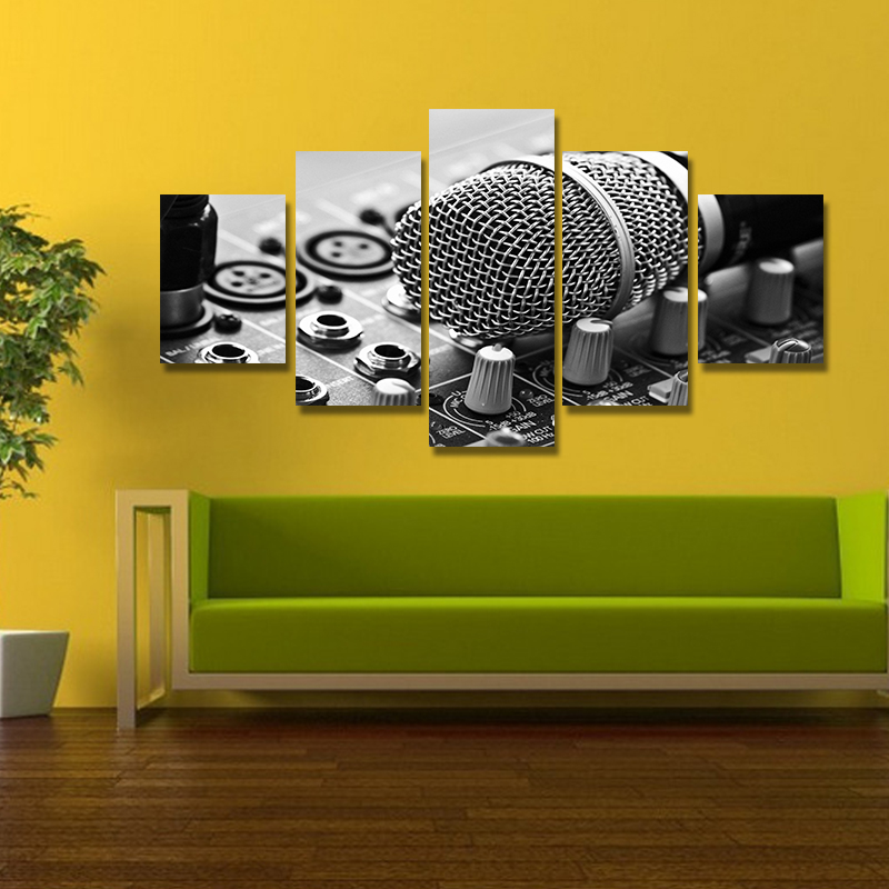 Luxury Black Art Wall Decor Composition - Wall Art Collections ...