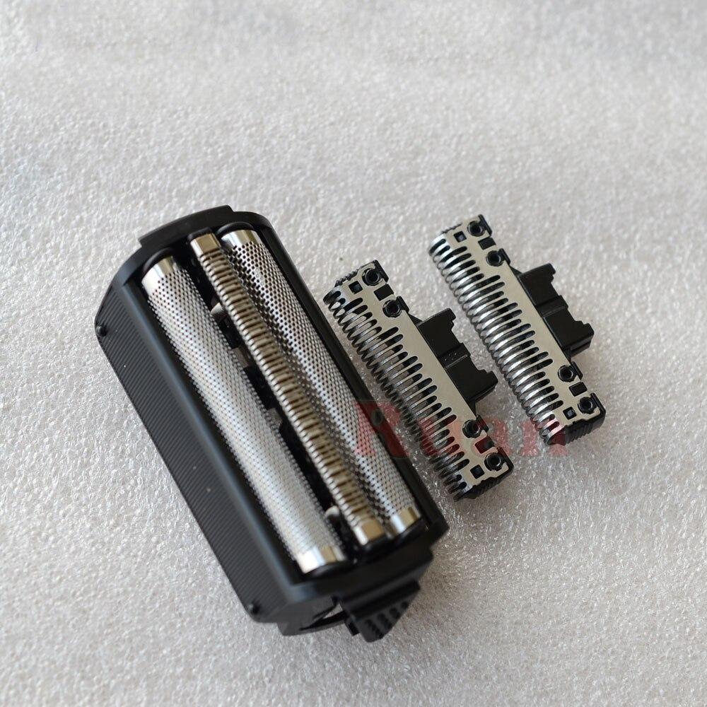 Lâminas de barbear & Folha de folha de tela de Tela para Panasonic barbeador cabeça ES9072 cortador ES9077 ES7020 ES7017 ES7016 ES7015 ES8027 ES7008