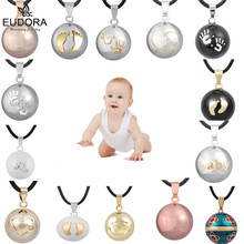 Eudora гармония шар кулон ожерелье беременность колокольчик мяч мексиканский Подвески Bola шары желаний ювелирные изделия для женщин лучший подарок