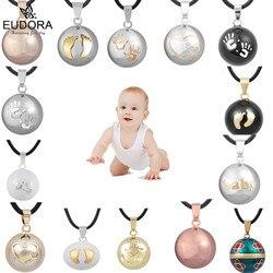 Подвеска в виде шара гармония Eudora, ожерелье с подвеской в виде колокольчика для беременных, меховые подвески, шары желаний Bola, хорошее украш...