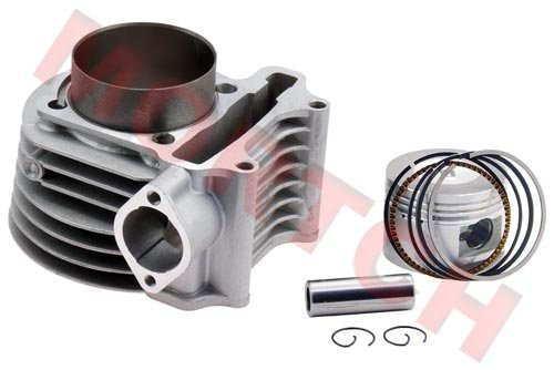 180cc(GY6 Big Bore) High Performance Cylinder Kits for 125cc 150cc (61mm) for Scooter ATV Go Karts Moped Free Shipping