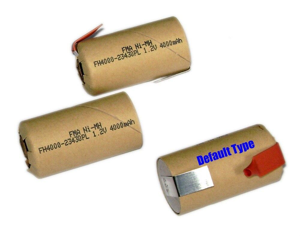 6Pcs Ni MH SC Sub C 1 2V 4000mAh Model Boat Car Power tools high rate
