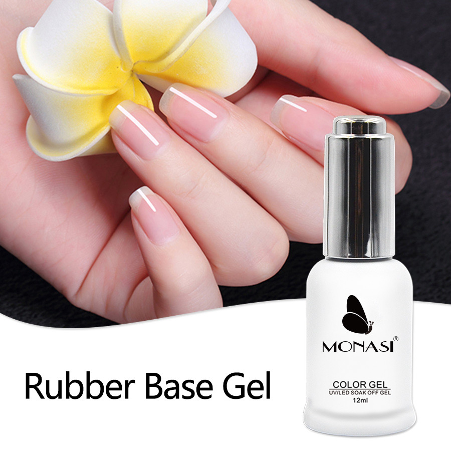 Healthy UV Primer Soak Off Long-lasting Rubber Base Thicker Gel For Nail Art Gel Lacquer 12g MONASI