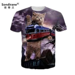 Sondirane 3D Print T Shirts T-Shirt Hip Hop Clothing Tops 8ae4c32eca