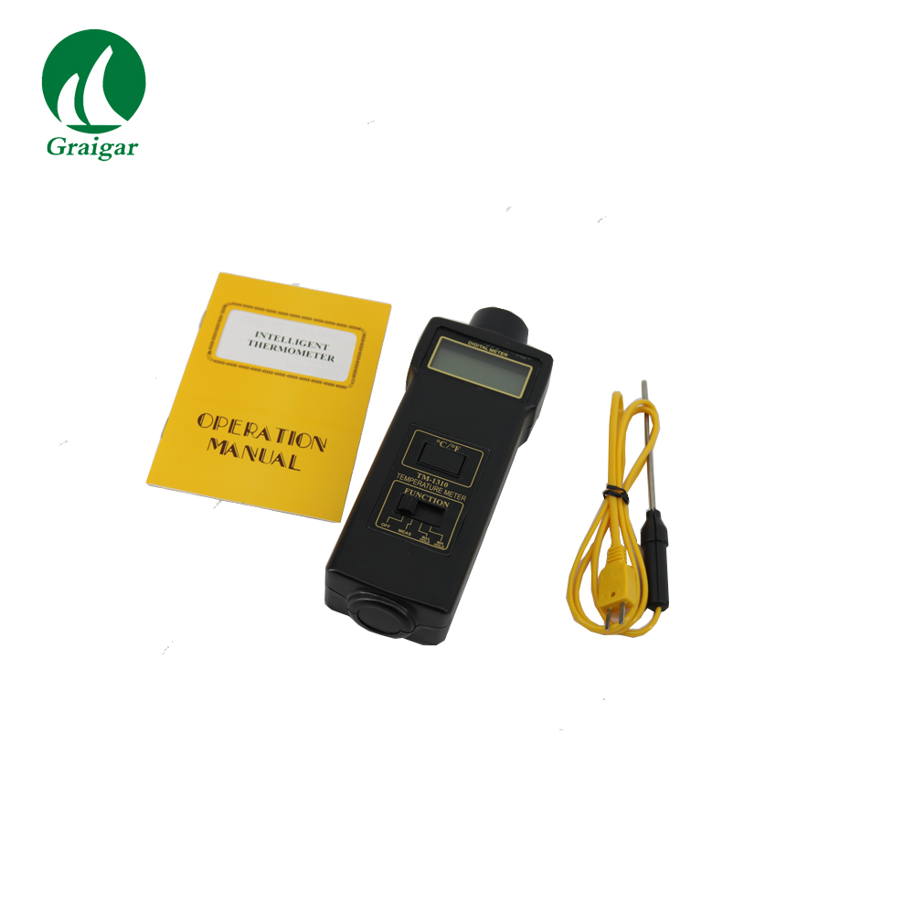 TM 1310 Digital Temperature Meter With Wide Measuring Range High Resolution