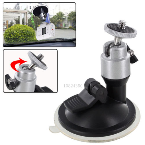Cam Cameras Tripod Car Suction Cup Mount for Sony Action Cam HDR-AS15/AS20/AS30V/AS100V FDR-X1000V/W 4K Gopro Hero 4 3+3 sj4000