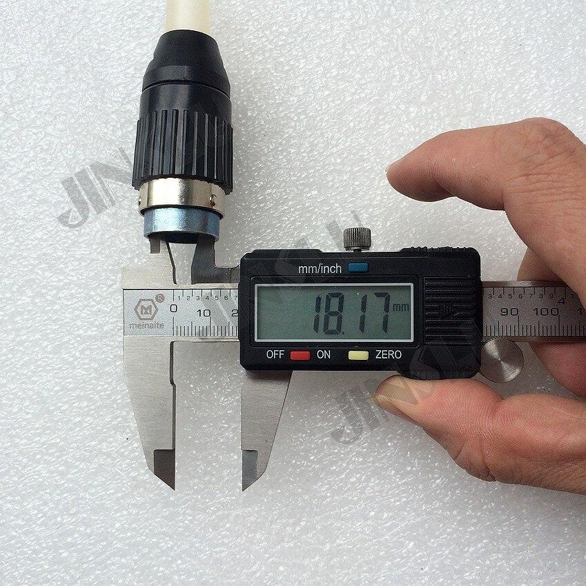 7 Prong Pins Pin Stecker Buchse Luftfahrt-stecker Schweißen Verbrauchs für TIG MIG MAG Plasma Schneiden Taschenlampe