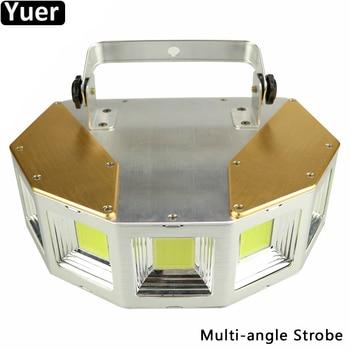 New 150W Multi Angle Strobe Light 5 Angles DMX512 Sound Activated Stage Lighting Effect Flashing Club Wedding DJ Disco Light