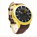 Finow X1 Golden K8 Mini Smart Watch Android 4.4 Heart Rate Monitor GPS WiFi Bluetooth 4.0 Similar NO.1 D5 Smartwatch Phone