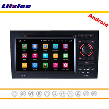 Liislee Car Android Multimedia For Audi A4 2002~2008 – Stereo Radio Video Audio CD DVD Player GPS Map NAV NAVI Navigation System