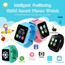 V7k Children leaning machine Security Anti Lost GPS Tracker Waterproof Smart Watch Camera Kid Emergency Android IOS Learn Toy(China)
