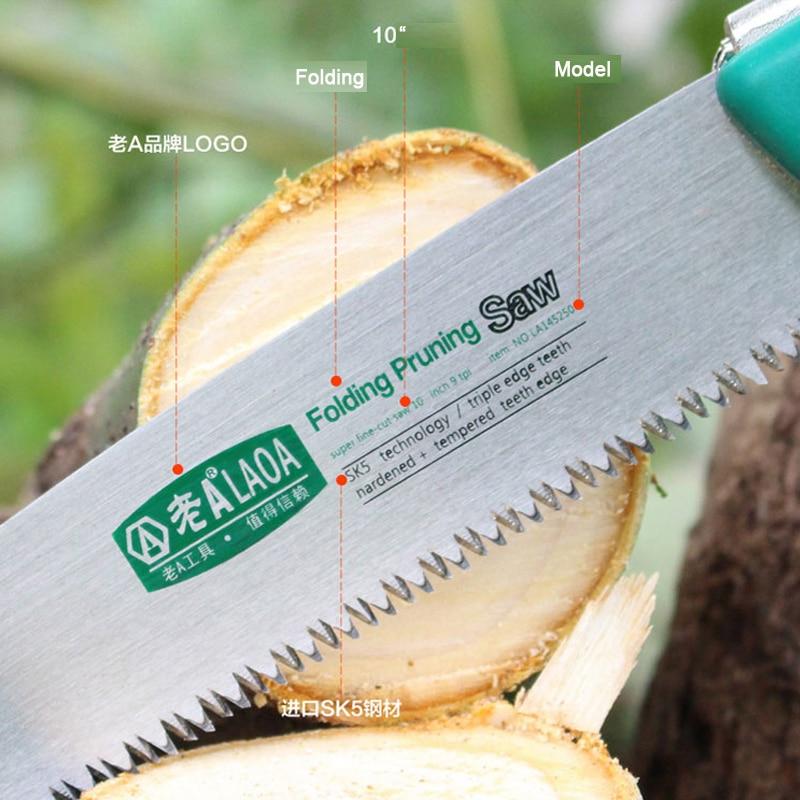 LAOA SK5 Összecsukható fűrész háztartási kézi fűrészel - Kézi szerszámok - Fénykép 6