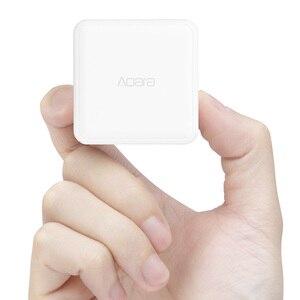 Image 2 - 2020 Aqara المكعب السحري تحكم المنزل الذكي زيجبي النسخة 6 إجراءات عملية ل جهاز منزلي ذكي مع تطبيق Mijia المنزل