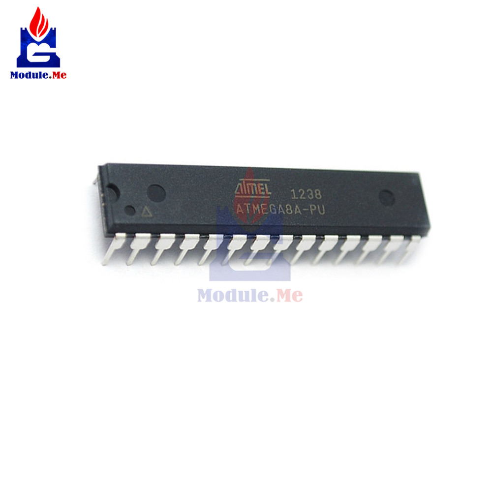 ATMEGA8A-PU ATMEGA8A MEGA8A DIP-28 8-bit with 8K Bytes In-System Programmable Flash ATMEGA8 DIP Original ICATMEGA8A-PU ATMEGA8A MEGA8A DIP-28 8-bit with 8K Bytes In-System Programmable Flash ATMEGA8 DIP Original IC