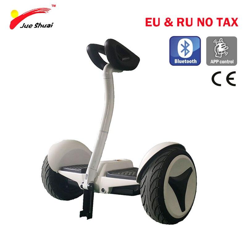 10 pouces auto équilibrage Scooter 2 roues moteur 700 W Gyeoscooter poignée Hoverboard patinete electrico adulte Scooter électrique