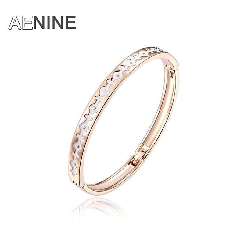 jonc браслет из розового золота