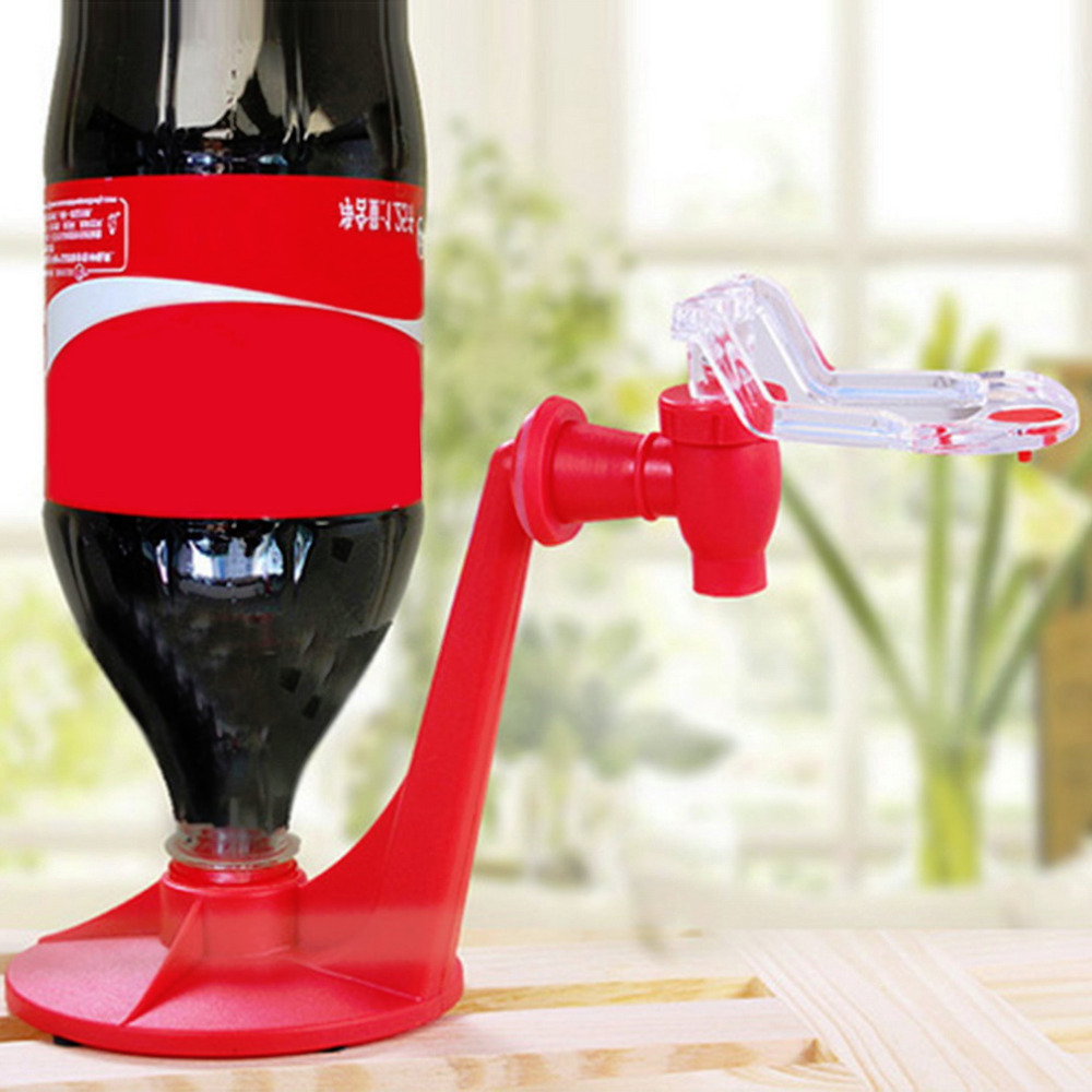 Hot Attractive Novelty Saver Soda Dispenser Bottle Coke Upside Down Drinking Water Dispe ...