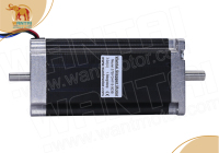 FREEfrom EU CNC Wantai Nema 23 Stepper Motor Dual Shaft 57BYGH115 003B 425oz in CE ROHS CNC Router Engraver Milling Metal Foam