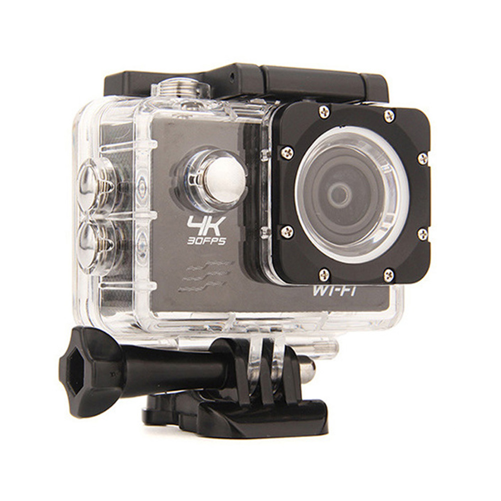 2.0 Inch 4K WiFi 1080P FHD Digital Camera 170 Degree Wide-angle Lens 1.5H Camera DVR Waterproof Camera UK Plug