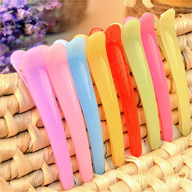 3pcs Girl Duckbill Hair Clips Kids Candy Color Solid No Slip Hair Pin Girls' Hairpin Barrettes For Kids Hair Accessories D0268