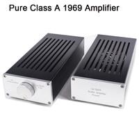 TAINCOOLKEI Pure Class A 1969 Amplifier Computer Desktop Mini Merge Split Type HIFI Audio Power Amp amplificador