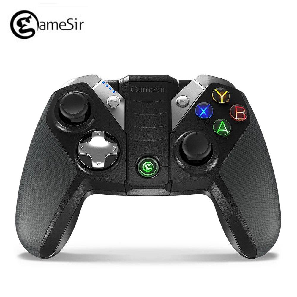 GameSir G4s Bluetooth Gamepad pour Android TV BOX Smartphone tablette 2.4 Ghz contrôleur sans fil pour PC VR jeux