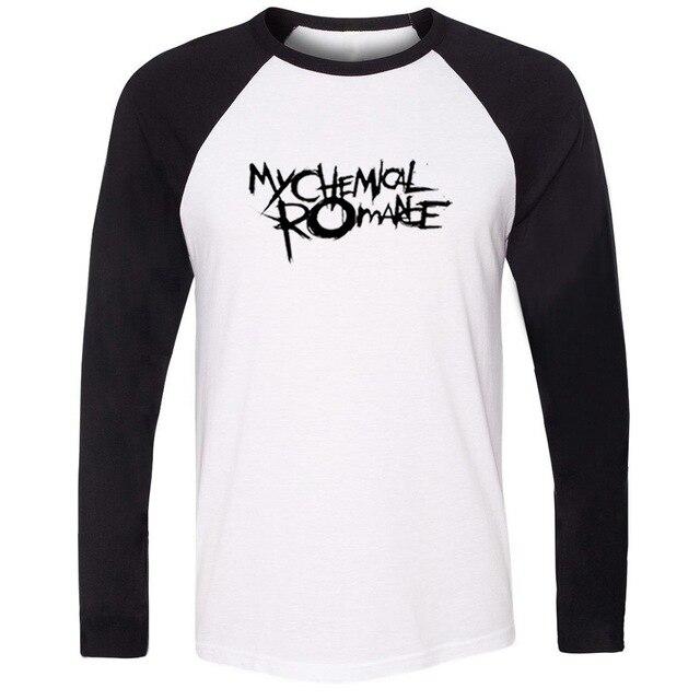 My Chemical Romance Fitness Raglan Long T Shirt Hommes Femmes Fille