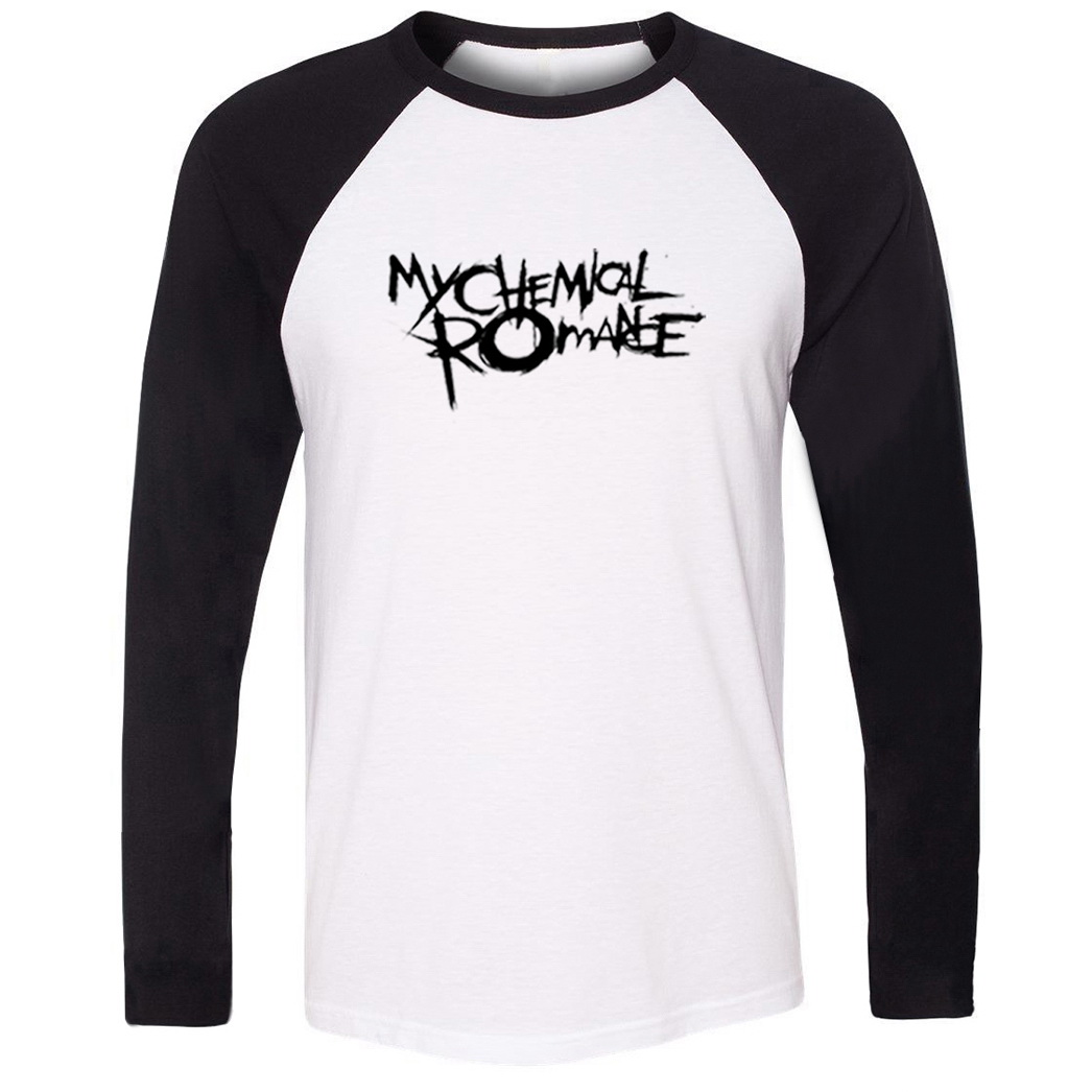 detailed look 1ff46 3646b US $10.99 45% di SCONTO|MY CHEMICAL ROMANCE Fitness Raglan Lunga T Shirt  Uomo Donna Ragazza moto KTM Off Road T Shirt ONE OK ROCK Primavera Autunno  ...