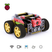 Adeept awr 4wd wifi умный робот автомобильный комплект для raspberry