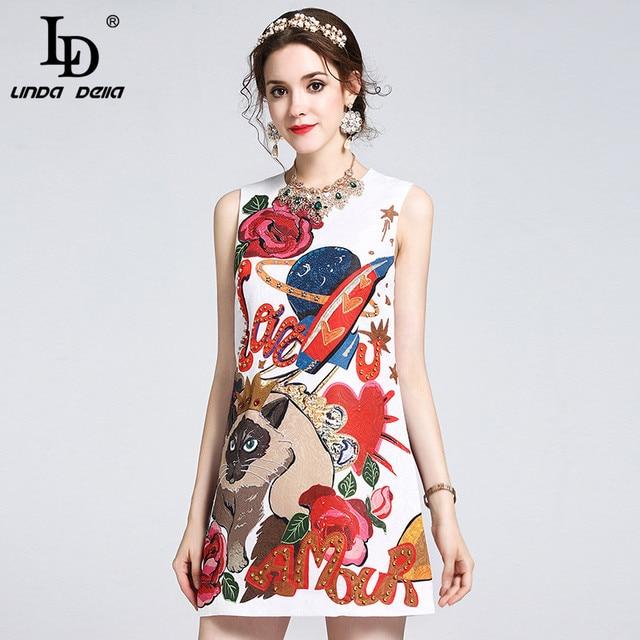 Aliexpress.com : Buy 2017 Runway Designer Summer Dress Women's ...