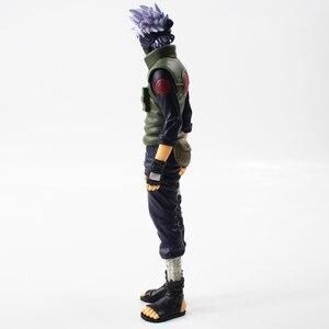 Image 4 - 28cm Anime Naruto Shippuden Grandista Hatake Kakashi Banpresto Shinobi Relations PVC Action Figure Collection Model Toy