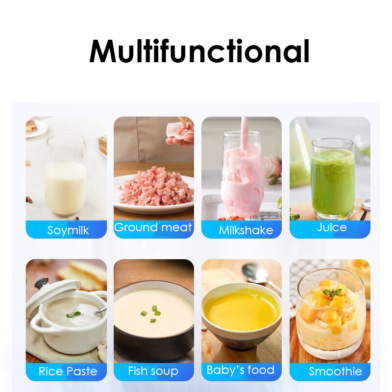 Image 4 - 220V Joyoung JYL Y912 Electric Food Blender Household Kitchen Food Mixer Cell Breaking Technology Extractor Juice MakerBlenders   -