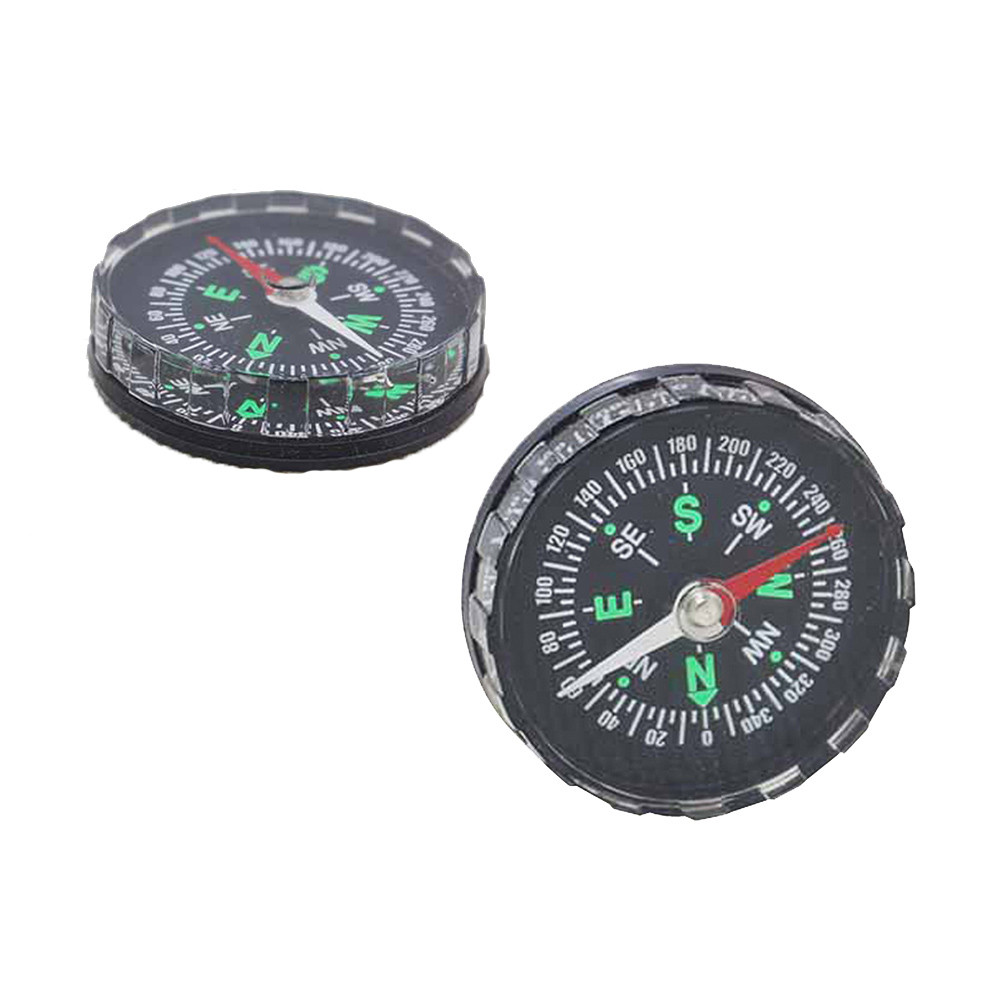 Camping trip compass Navigator tourist Mini Pocket Liquid Filled Button Compass for Hiking Camping Outdoor 2019 High Quality