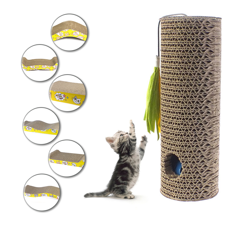 Scratching For Pets Scratch Corrugated Paper Board House For Cat Scratching Post For Cats Scratch For Cats Pets Products Ly0004