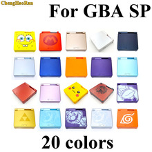 20 colors No screen screwdriver For GBA SP Housing Case Cover Replacement Full Shell Set Kit For Nintendo GameBoy Advance SP стоимость